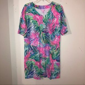 Lilly Pulitzer Scarlet Macaw Printed Dress